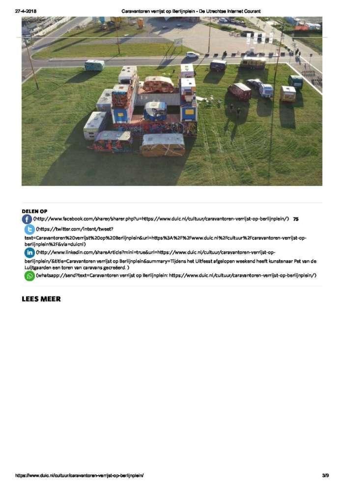 Caravantoren Verrijst Op Berlijnplein De Utrechtse Internet Courant Page 3