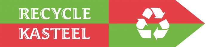 Vlag Recyclekasteel Klein